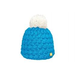 Bonnet Ice Bleu Pompon Blanc ANCIENNES COLLECTIONS divers