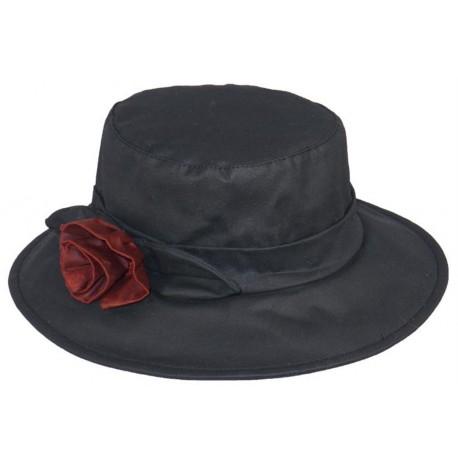 Chapeau pluie Jessy Noir
