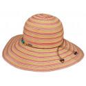 Chapeau été Femme Coton Rouge Herman Headwear