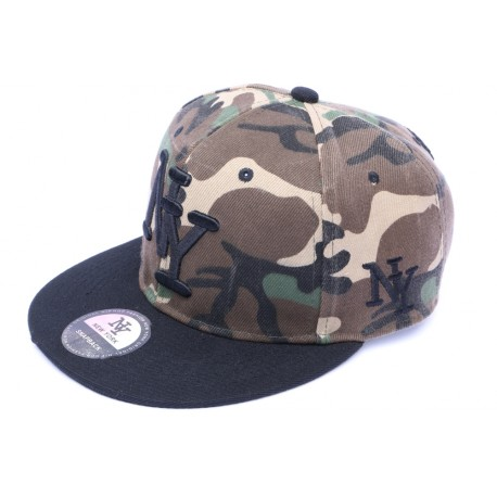 Casquette Snapback NY Camouflage