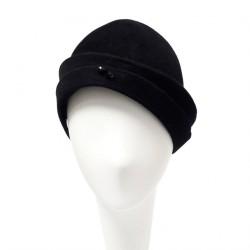 Chapeau Cloche Femme Eddley noire par Céline Robert