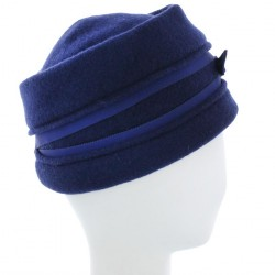 Chapeau Toque Bleu Toumel Collection Céline Robert