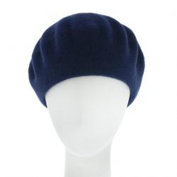 Béret Rond Bleu Koppa Collection Céline Robert