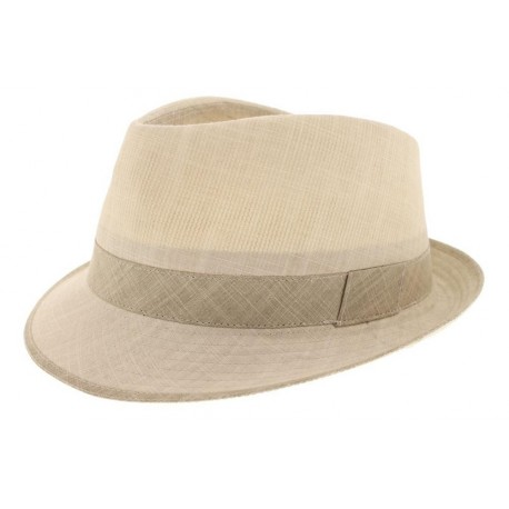 Chapeau coton Jo beige