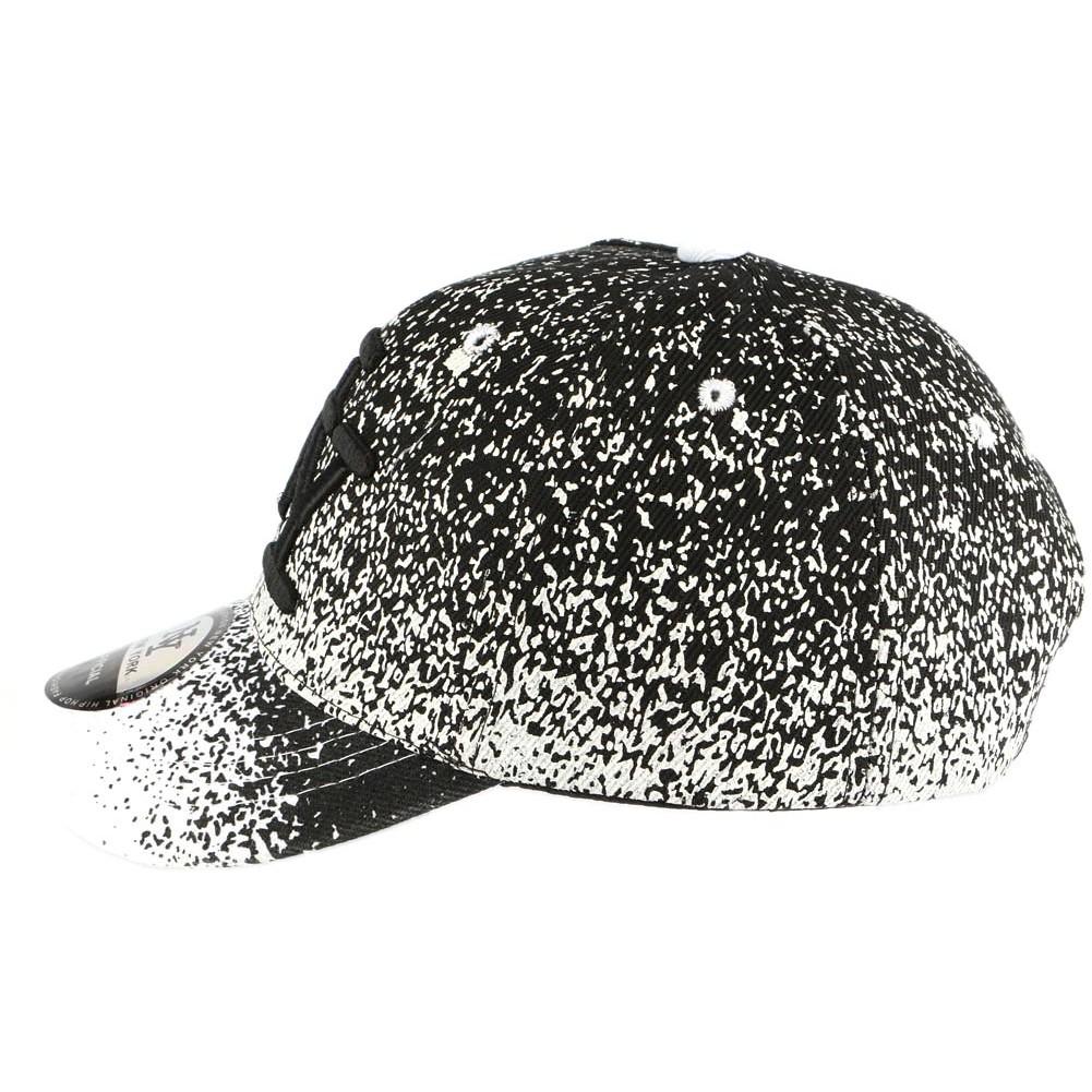 casquette ny enfant blanche noire casquette baseball mode livr 48h. Black Bedroom Furniture Sets. Home Design Ideas