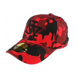 Casquette baseball enfant camouflage Rouge Kolt 7 a 12 ans ANCIENNES COLLECTIONS divers