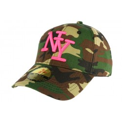 Casquette Baseball Camouflage marron Minsk