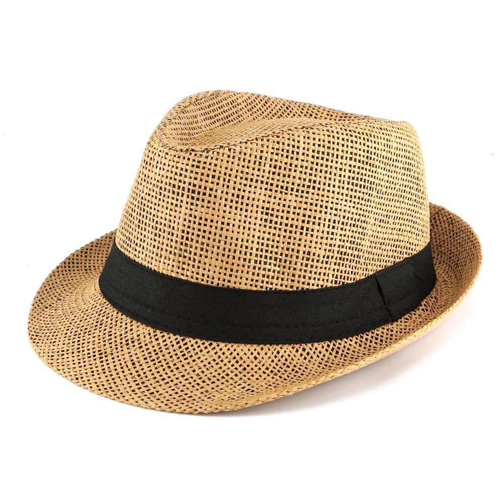 acheter en ligne 2724a 4dc48 Chapeau paille enfant marron, chapeau garcon fille style été ...