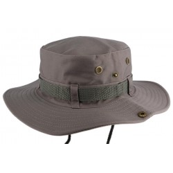 Chapeau Bob safari Gris Azzy Bob Safari Nyls Création