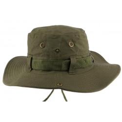 Chapeau Bob safari Vert Azzy