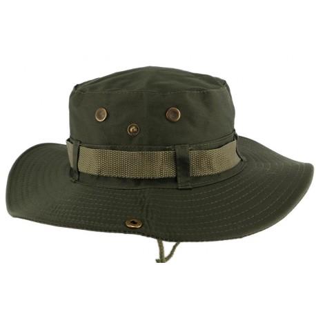 Chapeau Bob safari Vert Armee Azzy