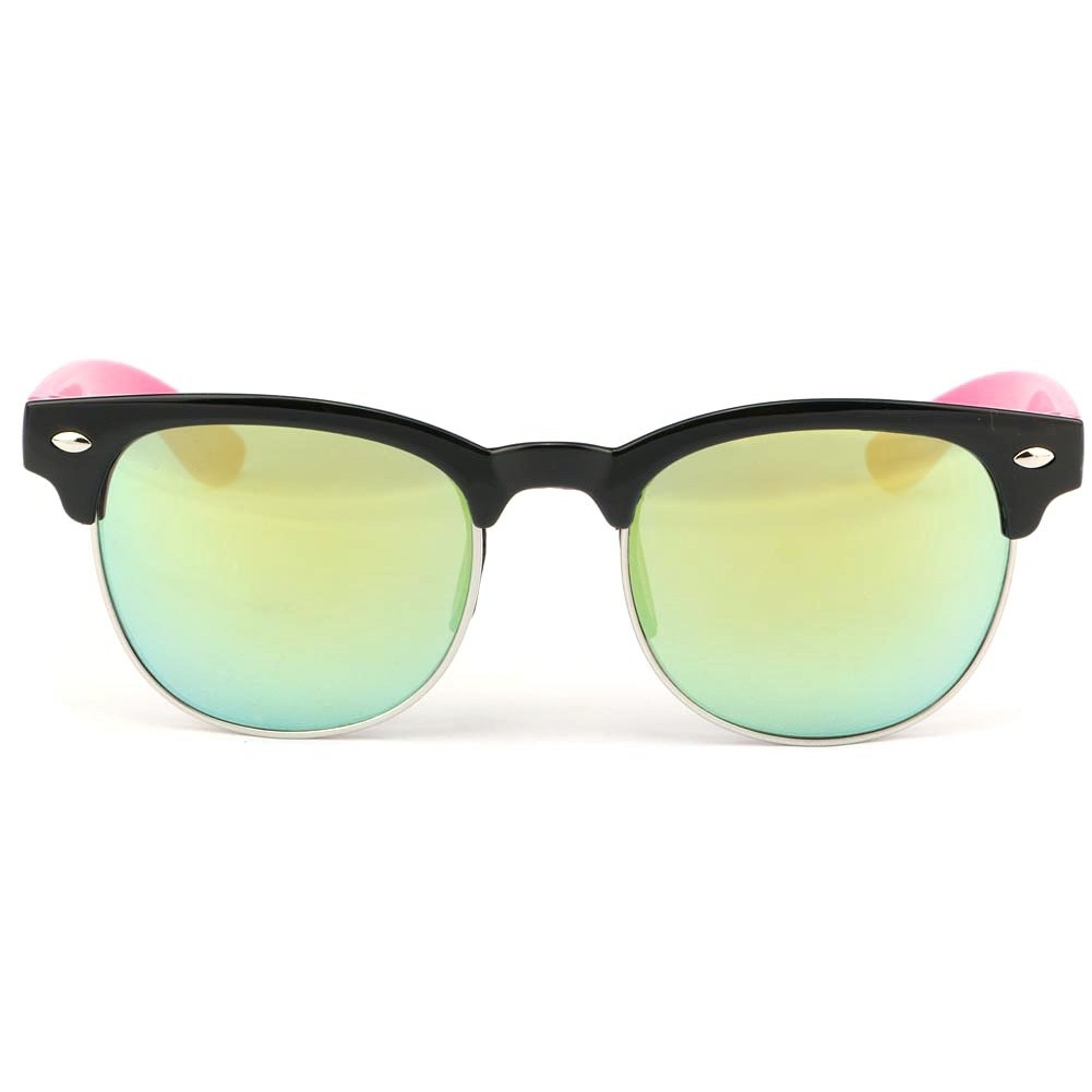 Lunette soleil enfant rose miroir roy lunette fille for Verre miroir lunette