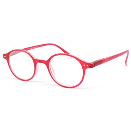 lunette loupe ronde rouge transparent flex lunette presbyte livr 48h. Black Bedroom Furniture Sets. Home Design Ideas
