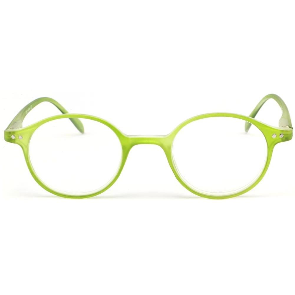 ea006e4221 ... Lunette loupe ronde vert transparent Flex Lunettes Loupes New Time