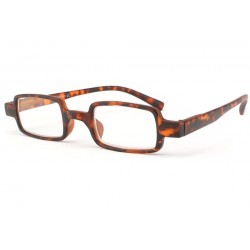 Lunettes lecture rectangle Marron Octy
