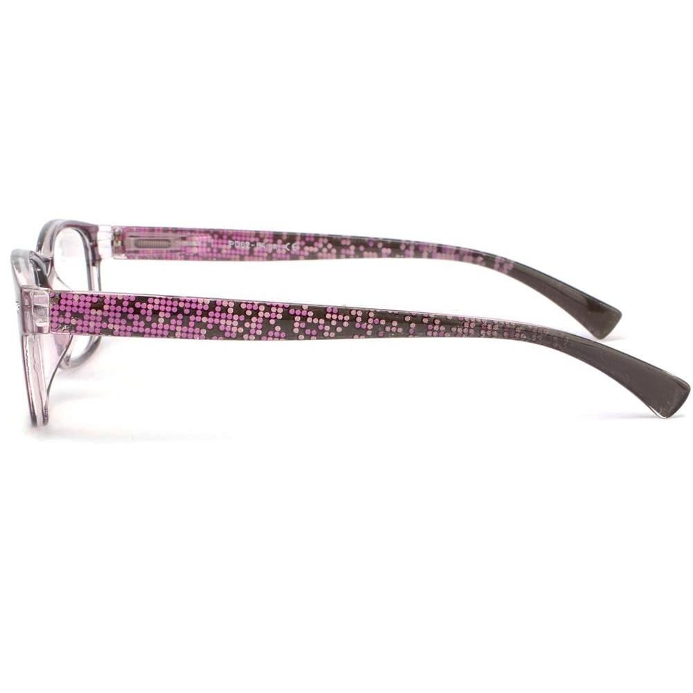 lunette de lecture femme violette lunette loupe fantaisie. Black Bedroom Furniture Sets. Home Design Ideas