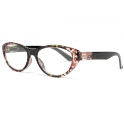 Lunette loupe femme fantaisie rose Irma