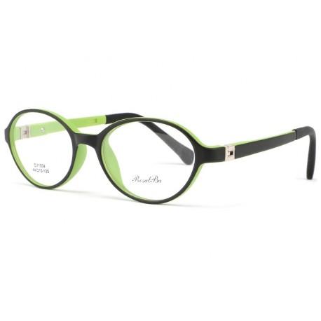 Monture lunette enfant ronde verte Mylo 5 a 7 ans Monture Lunette Enfant ROSALBA
