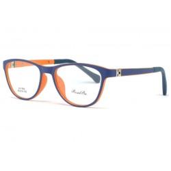 Monture lunette enfant bleu et orange 7 à 12 ans Smile