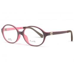 Monture lunette enfant rose et violette 7 à 12 ans Kick