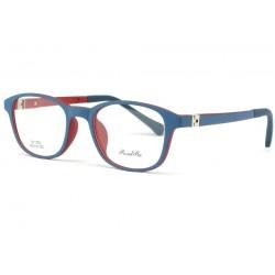Monture lunette enfant bleu et rouge 7 à 12 ans Gyms Monture Lunette Enfant ROSALBA