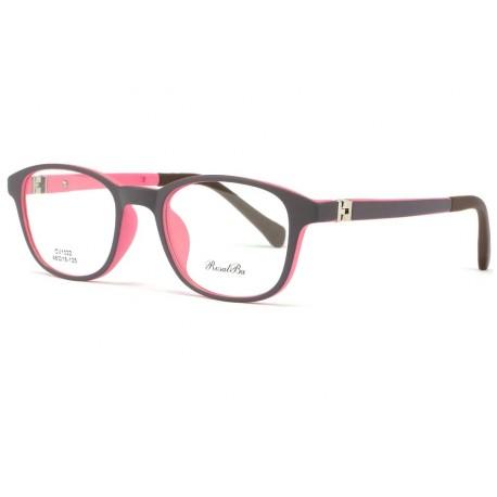 Monture lunette enfant noire et violette 7 à 12 ans Gyms Monture Lunette Enfant ROSALBA