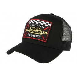 Casquette Trucker Von Dutch Noir Blacky CASQUETTES VON DUTCH