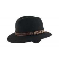 Chapeau feutre Noir Mac Gofer Herman