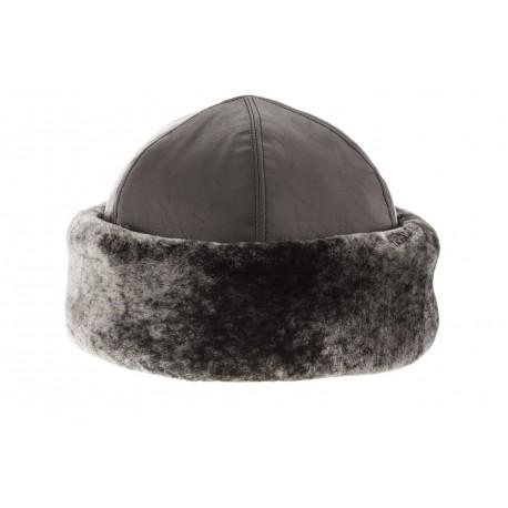hot sale wholesale outlet competitive price Toque femme fourrure grise Herman, toque hiver tendance livré en 48h!
