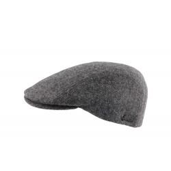 Casquette grise laine vierge Ranke Herman