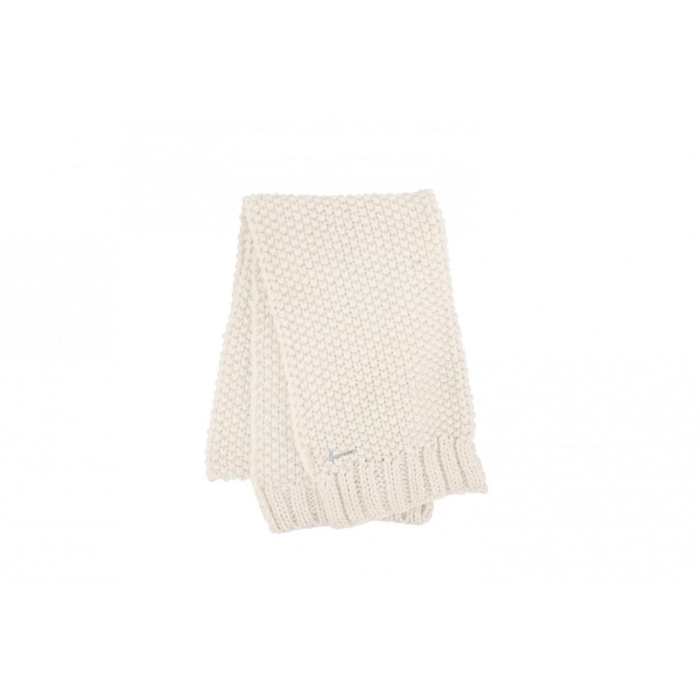 echarpe blanche lady herman echarpe femme et homme en laine livr 48h. Black Bedroom Furniture Sets. Home Design Ideas