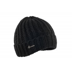 Bonnet docker noir laine Kylin Herman
