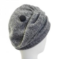 Bonnet laine femme gris Kleme Céline Robert