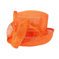 Chapeau Mariage Orange Babeth Leon Montane