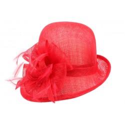 Chapeau Mariage Rouge Coco Leon Montane