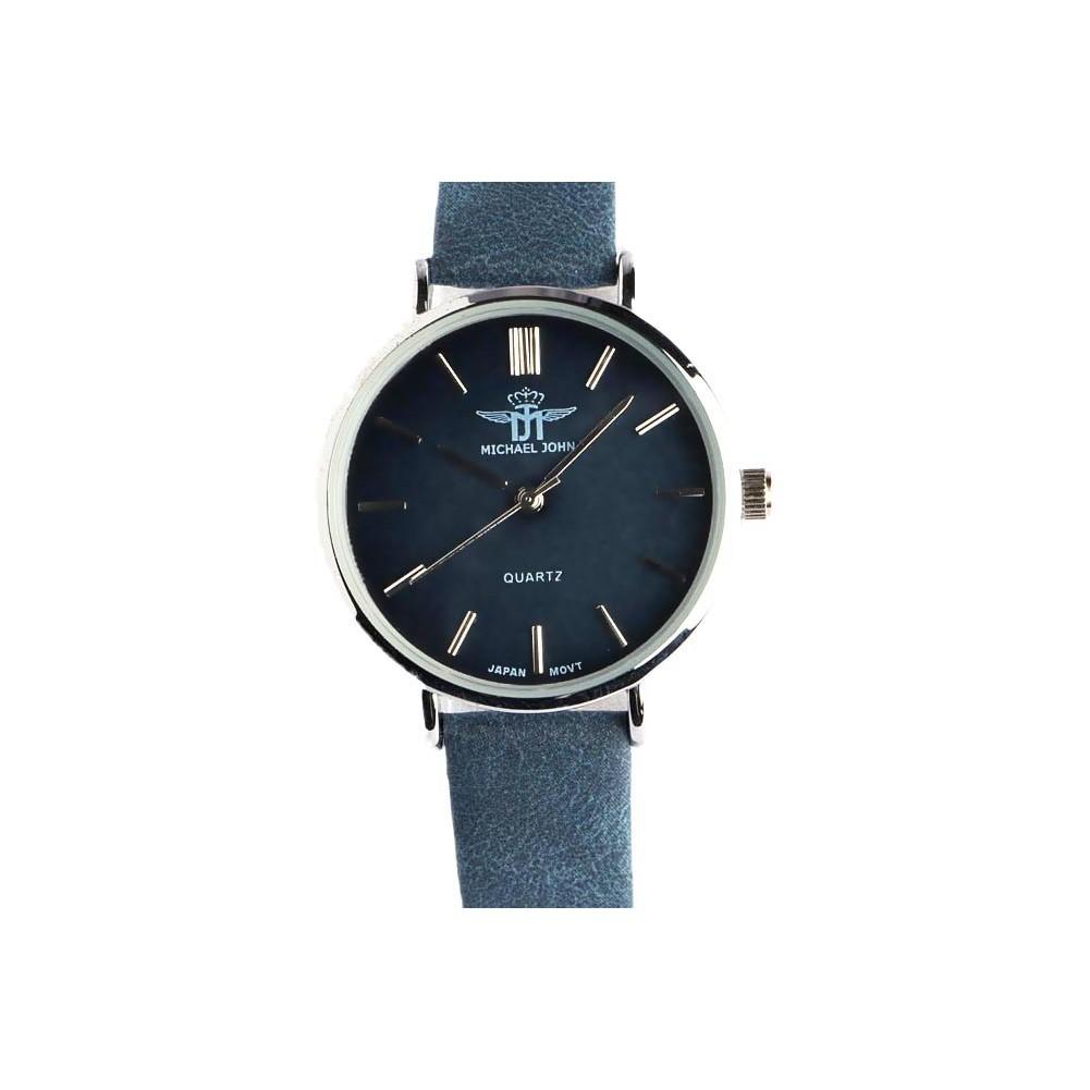 montre femme bracelet bleu ona montre argent tendance livr en 48h. Black Bedroom Furniture Sets. Home Design Ideas
