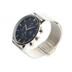 Montre chronographe bleu et argent homme Astor Montre GG Luxe