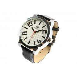 Gros bracelet montre blanc et noir fashion Kirkoss