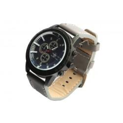 Montre noire et grise chronographe Michael John