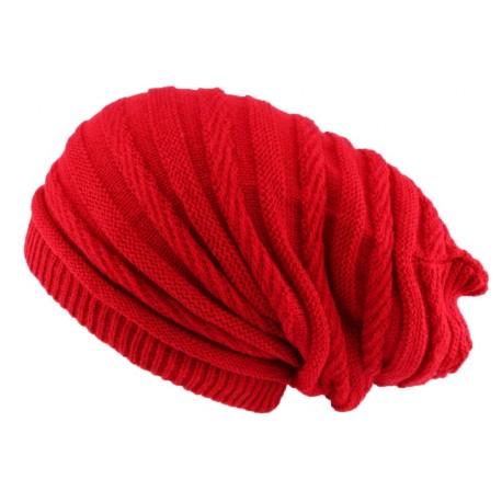 Bonnet rasta rouge long Jack Nyls Creation BONNETS Nyls Création