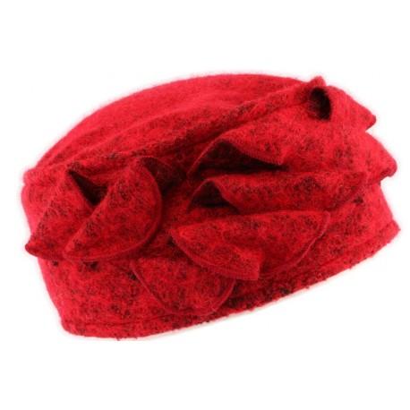 Toque laine rouge Bilba Léon Montane