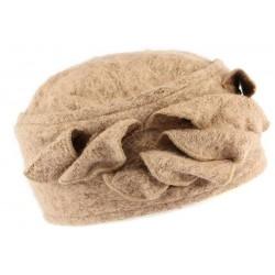Bonnet toque laine marron Bilba Léon Montane CHAPEAUX Léon montane