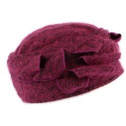 Bonnet toque laine violette Bilba Léon Montane CHAPEAUX Léon montane