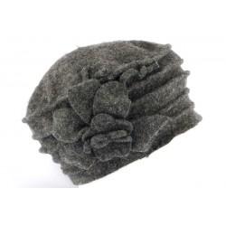 Beret toque laine gris anthracite Myria Léon Montane CHAPEAUX Léon montane