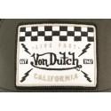 Casquette Von Dutch grise Live Fast California