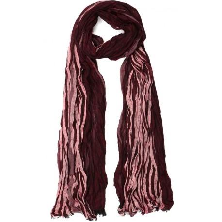 Echarpe Rouge bordeaux Burxton, foulard homme tendance livré en 48h! 4cbe7baa5e4