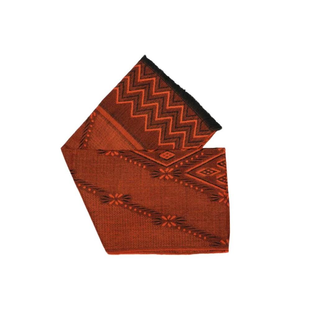 Grande écharpe femme orange Patchay, écharpe femme en laine livré 48h! d744d326934