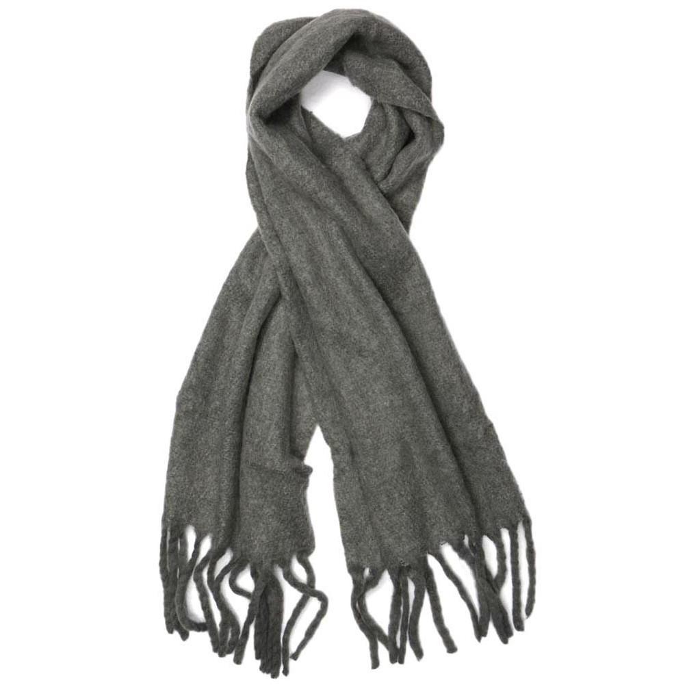 grosse echarpe laine gris maxton grande echarpe homme femme livr 48h. Black Bedroom Furniture Sets. Home Design Ideas