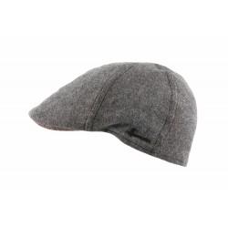Casquette plate grise tendance Turper Herman