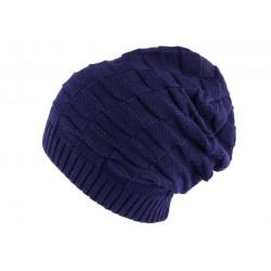 Bonnet Rasta Bleu Erolle Nyls Création